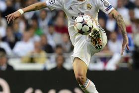 Real Madrid midfielder Angel di Maria during the 2014 Chamions League final.
