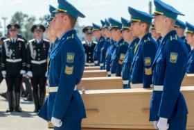MH17 was shot down in Eastern Ukraine on July 17, killing all 298 people on board. Around 228 coffins have been returned to the Netherlands.