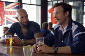 Tim Howard makes a cameo appearance in a US ad promoting the upcoming English Premier League.