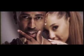 It seems singer Ariana Grande, The Wanted's Nathan Sykes' ex, and rapper Big Sean have taken their friendship to a new level.