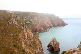 The cliffs at Cabo de Roca in Portugal.