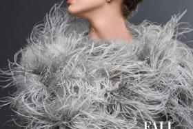 Emma Ferrer definitely looks a lot like her grandmother, Audrey Hepburn, as she graces the cover of Harper's Bazaar US.