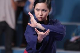 DEBUTANTE: Brunei starlet Liyana Yus takes on the titular role in Yasmine (above), a coming-of-age martial art flick.
