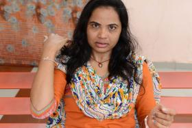 Four men ambushed Ms Dimple Patel as she was returning home.  They beat her with iron rods and abandoned her unconscious on a railway track.