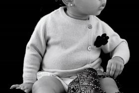 Kim Kardashian and Kanye West's daughter North West made her modelling debut in the Autumn issue of CR Fashion Book which will hit stands in the US on Thursday (Sept 4).