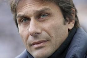 Former Juventus boss Antonio Conte was named the new coach of Italy on a two-year contract.