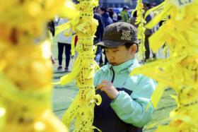 Many school students died in the Sewol ferry sinking. They were on an organised trip to Jeju Island.