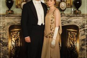Downton Abbey was hit by ridicule after fans spotted a plastic water bottle on a mantelpiece in one of their publicity stills for the UK drama's latest series.