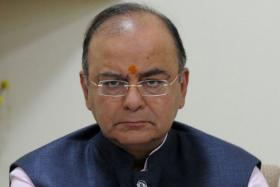 Indian finance minister Arun Jaitley.