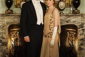 """After the """"Bottlegate"""" crisis where a water bottle was seen in a publicity shot, the cast members of Downton Abbey have been banned from wearing modern underwear."""