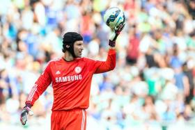 Petr Cech is not happy after he was made second-choice goalkeeper at Chelsea behind Thibaut Courtois.