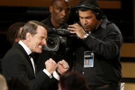 Breaking Bad a total of six Emmy awards this year including Lead Actor for Bryan Cranston.
