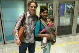 he remains of television and theatre actress Shuba Jaya, husband Paul Goes and their infant daughter Kaela Maya were returned to their family on Tuesday.