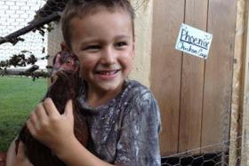 Ashley Turnbull made a formal complaint against her local police chief decapitated her 5-year-old son's pet chicken.