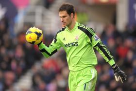 Stoke goalkeeper Asmir Begovic landed a world record for his long-range strike against Southampton in Nov 2013.