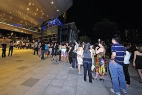 POPULAR: Club goers would wait for up to an hour to enter The Butter Factory on weekends.