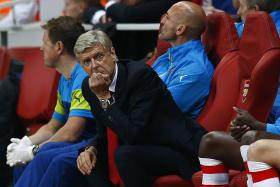 "The Arsenal manager left the job as commentator by ""mutual agreement""."