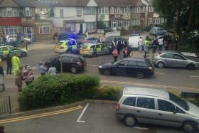 British media reported that a woman was found beheaded at a house in north London.