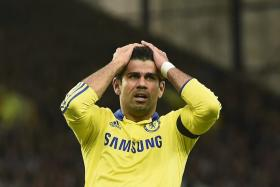 Chelsea striker Diego Costa picked up a minor hamstring problem while on international duty with Spain.