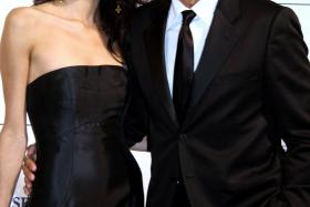 George Clooney was set to receive a Humanitarian Award at Sunday's (Sept 7) Celebrity Fight Night in Tuscany, Italy when he let slip the city where he will say his vows with fiancee and UK-based lawyer, Amal Alamuddin.