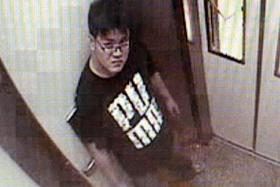 SURRENDERED: Tan Wee Beng was caught on CCTV footage after molesting a teen. He was jailed 13 months and given three strokes of the cane.