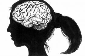 It was only at the age of 24 did a woman from China find out that she was always missing a part of her brain.