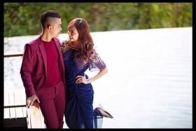 Local duo Sleeq's rapper Alif Abdullah to wed fiancee, a teacher and freelance Suria actress, Azzah Fariha tomorrow at Gardens By The Bay.