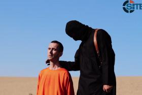 A British aid worker was the latest victim of terror organisation, ISIS. A masked militant beheaded him while speaking out against Britain's coalition with the US.