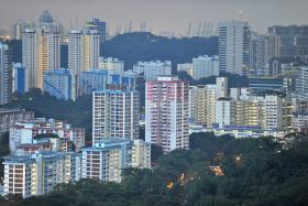 File photo of HDB flats.