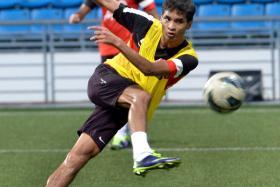 File photo of goalscorer Safuwan Baharduin.