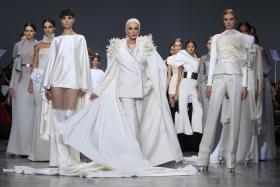 US model and actress Carmen Dell'Orefice is set to walk the runway at Digital Fashion Week (DFW) next month.