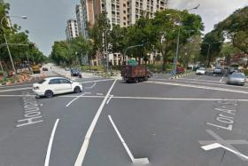 The junction of Lorong Ah Soo and Hougang Ave 1.