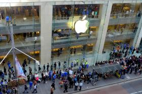 Apple fans have been doing all sorts of crazy things to get their hands on the company's latest gadget.