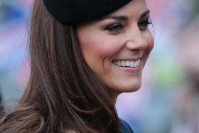 English bystanders awaited the arrival of Kate Middleton during a visit at Malta. But her husband Prince William showed up on her behalf as she continues to suffer severe pregnancy sickness.