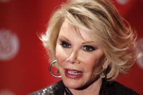 Joan Rivers' Facebook page had a posthumous update about the new iPhone. The post has since been deleted.