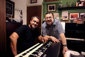 Local jazz veteran Jeremy Monteiro (left) releases new album with Italian organist Alberto Marsico