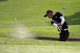 IN CONTENTION: Local amateur golfer Ang Boon Keat (above) is one of around 100 players taking part in the Singapore Press Holdings (SPH) World Golfers Championship (WGC).
