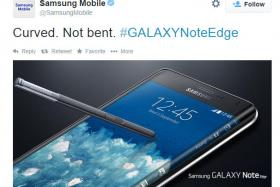 Samsung takes a snipe at Apple on Twitter.