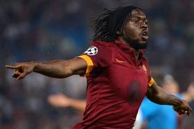 KEY MEN: Roma have Francesco Totti pulling the strings and striker Gervinho (above) to convert the chances.