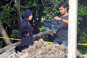 Burnt body parts: M'sia cops say woman's lover could have been behind killing.
