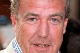 Presenter Jeremy Clarkson was among those who were forced to abandon their vehicles after an angry crowd gathered and began throwing stones.