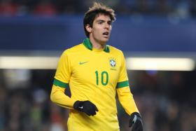 Former AC Milan playmaker Kaka is set to appear in Singapore for Brazil's glamour friendly against Japan.