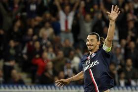 Zlatan Ibrahimovic turned 33 on Friday.