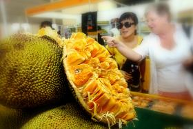 File photo of jackfruit. Philippine thieves have been using jackfruit sap to steal from cash dispenser machines in banks.