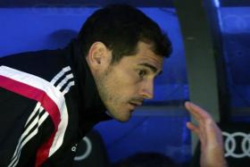 It's not often that a professional footballer gives such a frank interview and Iker Casillas's (seen here in a file picture during a recent Real Madrid game) honest take on his recent troubled times was amazing to experience.