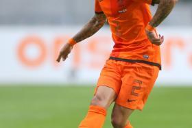 Dutch defender Gregory van der Wiel.