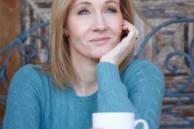 JK Rowling, the author of the Harry Potter books, teased fans with a cryptic riddle on Twitter.