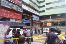 A bomb exploded in front of an entertainment outlet in Bukit Bintang, Kuala Lumpur, at 4am on Oct 9.