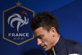 Laurent Koscielny has been forced to withdraw from France's squad due to injury.
