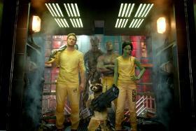 Guardians Of The Galaxy film still.